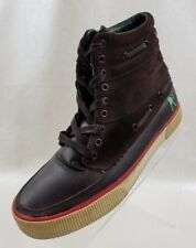 Rocawear Sneakers High Top Sport Mens Brown Leather Lace Up Shoes Size 8