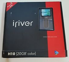 New ListingiRiver h10 20gb Blue Jukebox Mp3 Player in Original Packaging with Accessories