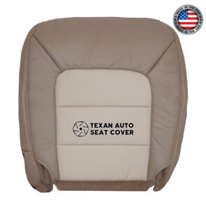 2003 Ford Expedition Eddie Bauer NBX 5.4L -Driver Bottom Vinyl Seat Cover Tan