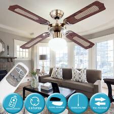 Ventilateur plafond 9,5 W SMD DEL Éclairage Urgence Lampe Télécommande