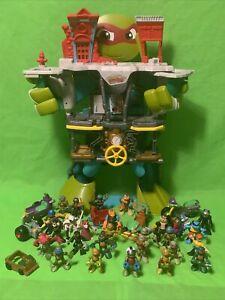 Teenage Mutant Ninja Turtles Half Shell Heroes Playset Figures & Vehicles Bundle