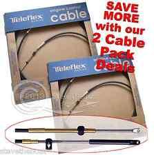 2 X Mercury/Mariner 600A Remote Control Throttle/Gear Cables Teleflex11 ft.