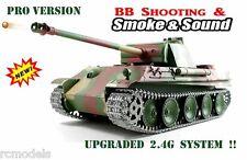 remote radio control Heng Long RC tank 1/16 Heng Long Panzer G Upgraded 2.4G !!
