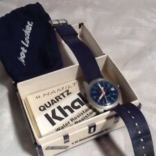 RARE 1986 HAMILTON QUARTZ KHAKI WRIST WATCH / FOOTLOCKER 904576-M