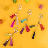 10x Tassel Keychain Bag Handbag Key Ring Car Key Pendant DIY Handbag Decor