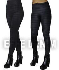 Leggins Donna Pantaloni Sexy Pantacollant Fuseaux Elasticizzati Aderenti 9036