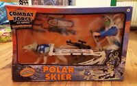 COMBAT FORCE MOUNTAIN MISSION POLAR SKIER SET NEW & SEALED PLAY EQUIPMENT ACTION