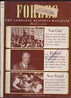 Forbes Magazine March 1 1939 Howard Heinz Depression News
