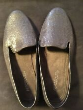 Aerosoles Versatile Leather With Sequin Finish  10m Women's Flat Shoes