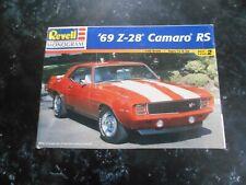 """Vintage 1998 Revell Monogram """"69 Z-28 Camaro Rs Model kit."""