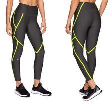 NWT Under Armour Women's HeatGear Edgelit  Ankle Crop, Black Legging | Size XS