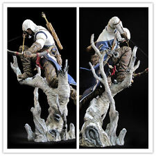 "Hot  10.2"" The assassins creed 3 Connor hunter PVC archery action figure model"