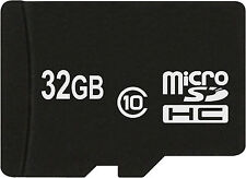 32 GB MicroSDHC Class 10 Speicherkarte für Sony Xperia E1 , Xperia M2