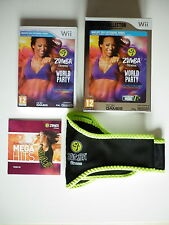 Zumba Fitness World Party Edition Collector + ceinture Jeu Vidéo Nintendo Wii