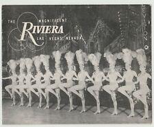 RIVIERA HOTEL CASINO LAS VEGAS NV RARE BRUNO BERNARD PHOTO COVER (ONLY)