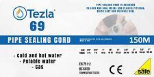 Gas Pipe Sealing Cord 150m - Tezla 69 - Loctite 55 - Thread PTFE Seal Tape