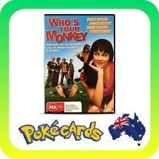 WHO'S YOUR MONKEY DVD R4 FREE POSTAGE PRE-OWNED