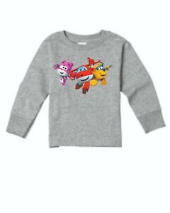 Super Wings Long Sleeve T-shirts