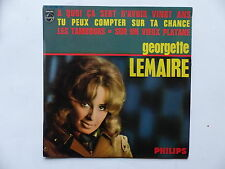 GEORGETTE LEMAIRE A quoi ca sert d avoir vingt ans / Tu peux compter .. 437295