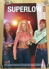 Original Vintage Destiny'S Child Levi's Super Low Jeans Poster Ad Rare Beyonce