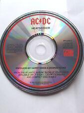 AC/DC ~ HEATSEEKER ~ first u.s.promo cd single 1988 (dj.blow up your video)
