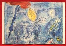 Marc Chagall,Homage to Ravel, Offset.Lithograph 1969, Mourlot,Paris