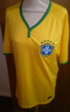 BRAZIL 2014 HOME FOOTBALL SHIRT NIKE AUTHENTIC JERSEY MENS SIZE  XL