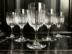 Verres Flutes Et Services En Verre Ou Cristal De Baccarat Ebay
