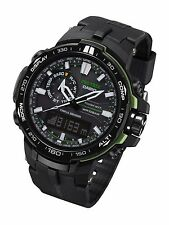NEW! Casio Pro Trek Solar Power Atomic Anolog Digital Watch PRW6000Y-1A