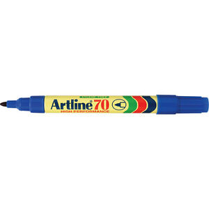 48 x Artline 70 Blue Permanent Markers