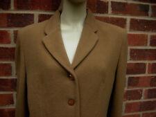 Vintage Damart Wool Blend Brown Jacket/Coat UK size 14 EU 42