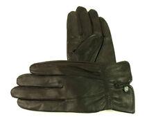 Gants et moufles noirs en cuir pour femme