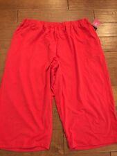 Woman Within Knit Pants Plus Size 3X Capri Cropped
