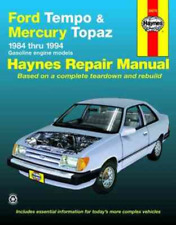 Ford Tempo Mercury Topaz 1984-1994 Haynes Workshop Manual Service Repair