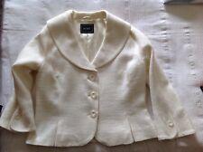 Hobbs Cream Jacket Size 14. Wedding, Races, Cruise