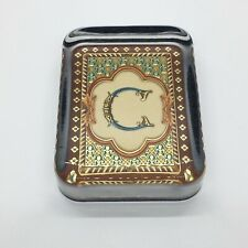 Playing Card Decorative Rectangle Glass Paperweight