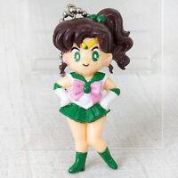 Retro RARE Sailor Moon Jupiter Makoto Kino Figure Keychain JAPAN ANIME MANGA