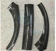 For Ford Focus RS S 16-18 Carbon Fiber Style Front Bumper Lip Guard Cover 3pcs h