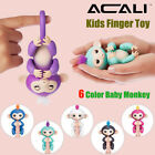 ACALI Mini Finger-tip Monkey Smart Electric Touch Motion Monkey Kids Pet Toys