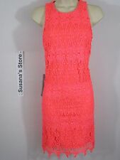 NWT BEBE LACE SHIFT DRESS SIZE S Simply flawless. Luxe guipure lace shift dress
