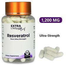 Resveratrol NMN Booster (60 Capsules) Japanese Knotweed (Australian Supplier)