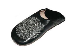 Orientalische Schuhe Babouche Hausschuhe Pantoffel Slipper aus Marokko - Damen -