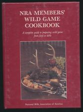 NRA Members Wild Game Hunting Cookbook Small/Big Game Fish Bird Cooking Recipes
