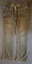 bootcut jeans size 10 stonewashed claasic