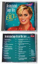 DEUTSCHE SINGLE-HITS DER 80ER (2) Hans Hartz, Peter Cornelius,... Polydor CD TOP