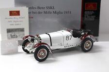 1:18 CMC Mercedes SSKL #87 Sieger Mille Miglia 1931 NEW bei PREMIUM-MODELCARS