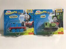 Thomas & Luke Friends Adventures Metal Engines. New/Sealed. Lot Of 2