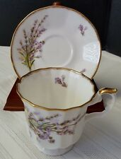 Elizabethan Staffordshire Hand Decorated Fine Bone China Tea Cup and Saucer