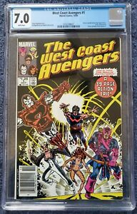 West Coast Avengers #1 CGC 7.0