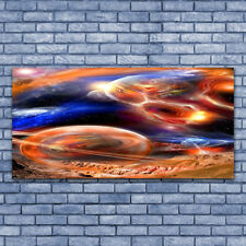 Acrylglasbilder Wandbilder aus Plexiglas® 140x70 Abstrakt Weltall